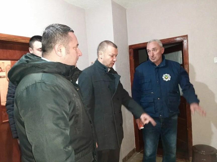 Иван Вујић обишао поплављено подручје села Лепине