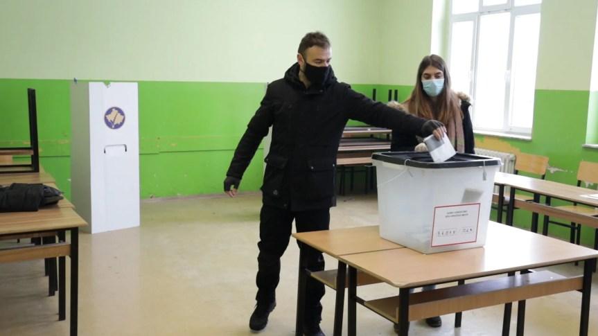 Затворена биралишта на Косову