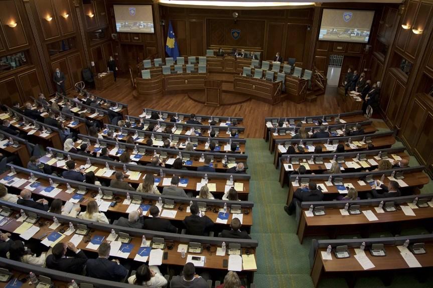Измене и допуне Закона о општим изборима нису изгласане у Скупштини Косова