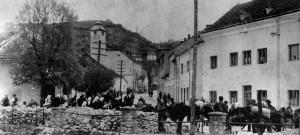Drvarna pijaca u Gračanici, tridesetih godina XX stoljeća.