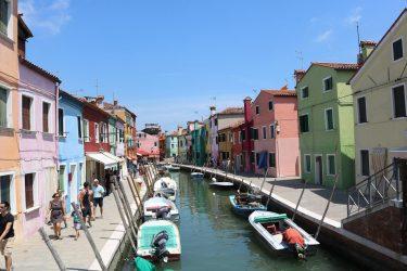 Burano Island off Italy