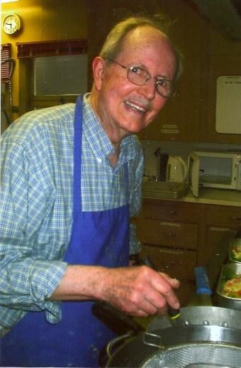 Hale McMahon cooking