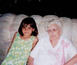 Alex and Gma Dorothy 1997