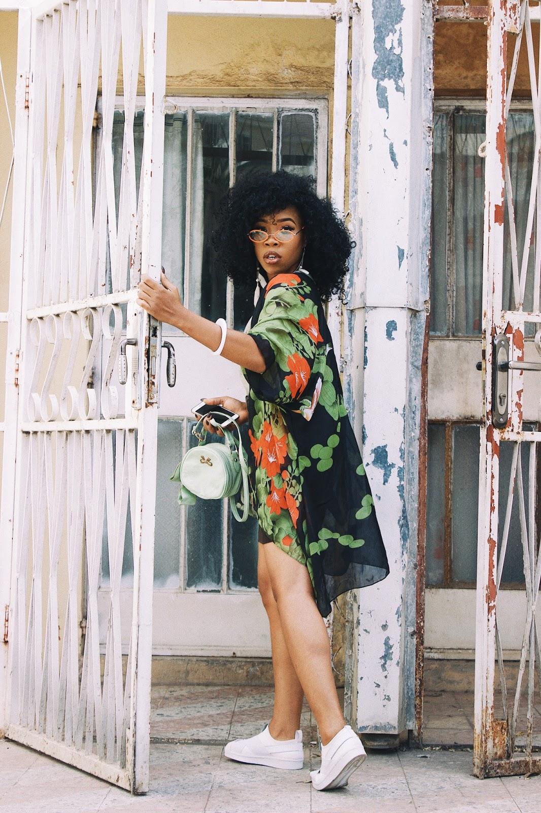 BLACK GIRL IN FLORAL