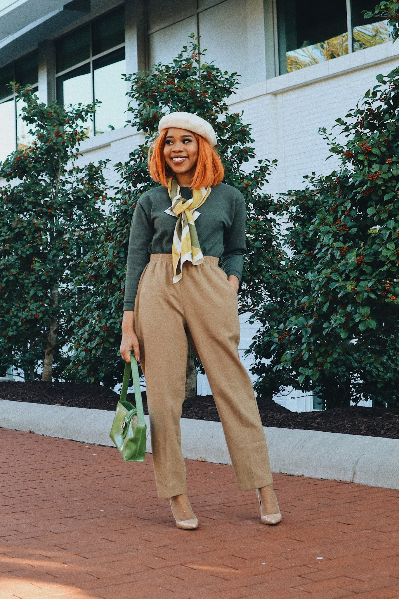 BLACK GIRL FRENCH STREET STYLE