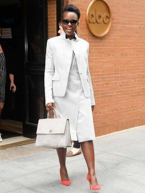 Lupita Nyongo Boss Look