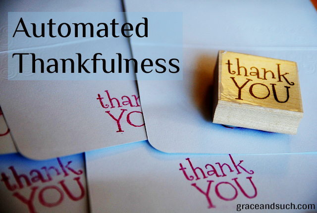 Automated Thanks