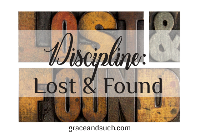 Discipline: Lost and Found