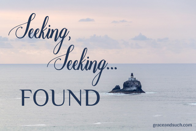 Seeking, Seeking... Found