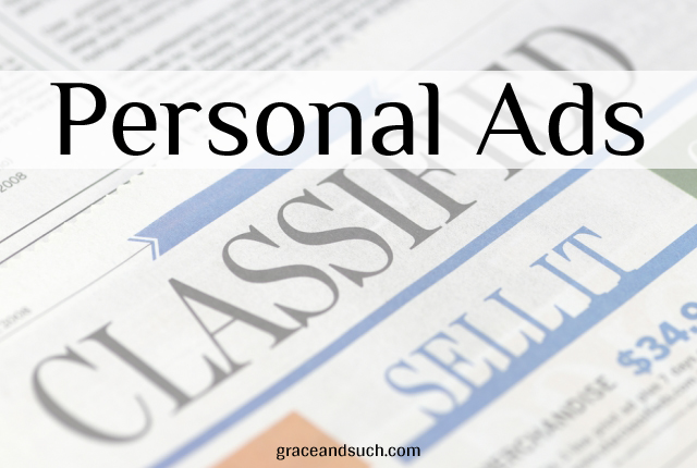 Personal Ads