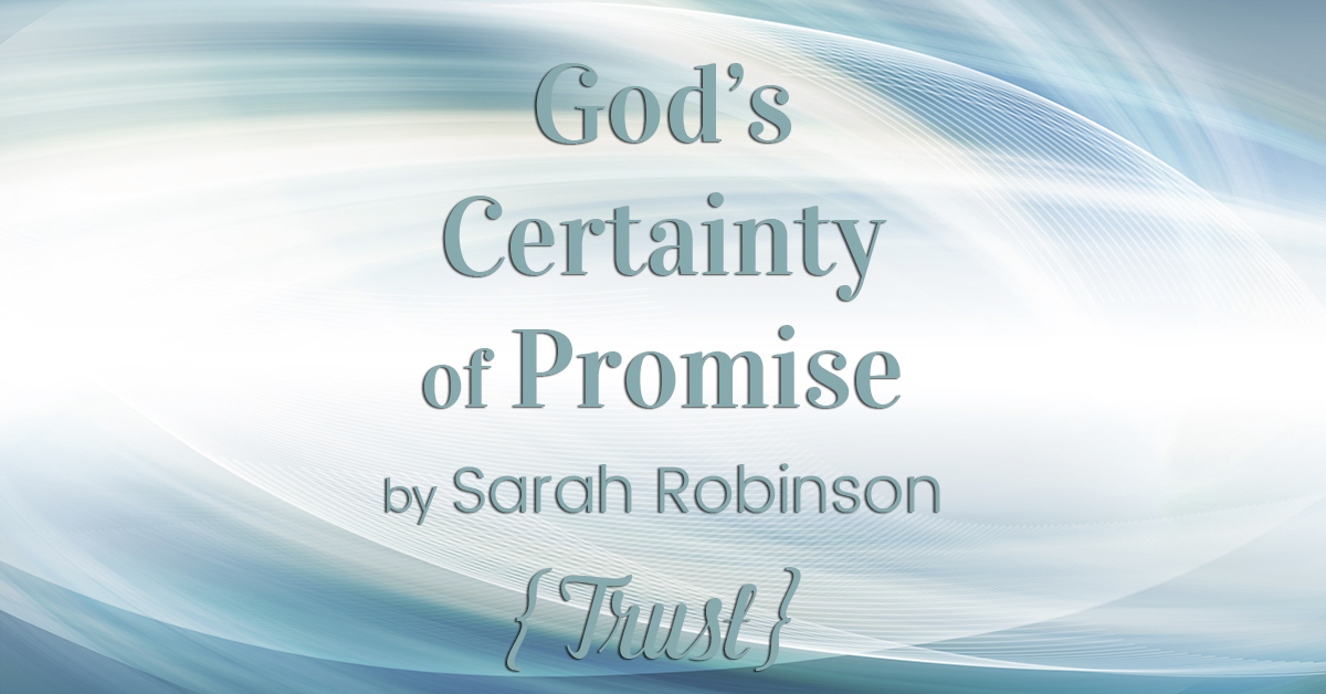 God's Certainty of Promise