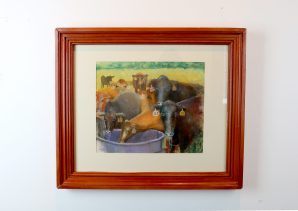 Richard Foster - Summer Pasture - Price available on request