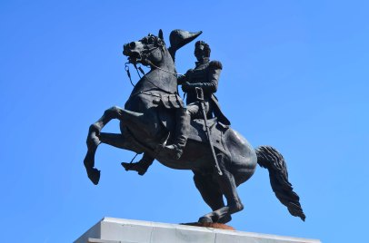 Andrew Jackson Statue at the Capital