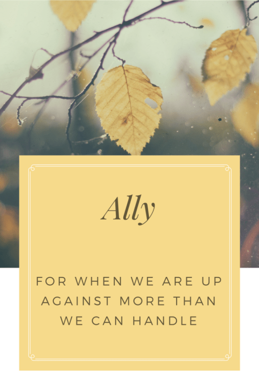 Nowhere else in this world will you ever find an ally like you will in our Lord and Savior Jesus Christ because there's nowhere He hasn't stood.