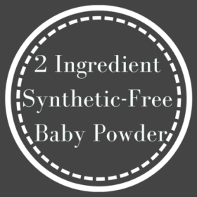 Baby powder can be one of the most useful tools in the home, and this two-ingredient synthetics-free DIY is the safest option.