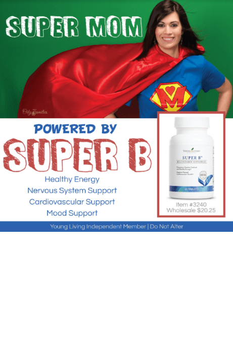 Young Living Supplement Super B Review