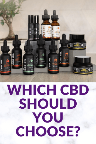 Which CBD oil should you choose?