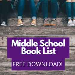 Middle School Book List