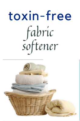 Non-toxic fabric softener is a must for your family's health, and these two options are both simple and cost effective!