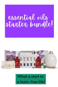 Essential Oils Starter Bundle