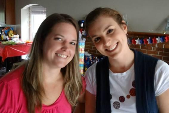 Ashley & Chelsea Judah's b'day nov 2013