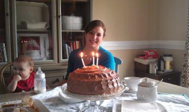 Chelsea's birthday Feb 2013