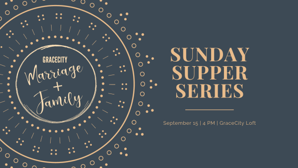 sunday supper series