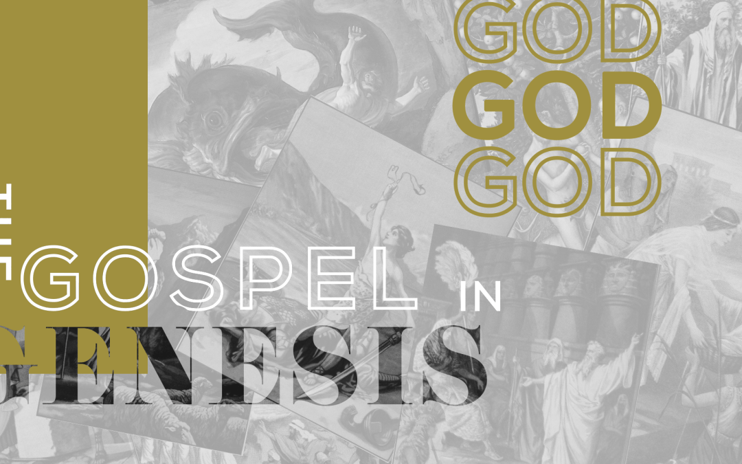 God is Creator 1.13.19 SERIES: The Gospel in Genesis