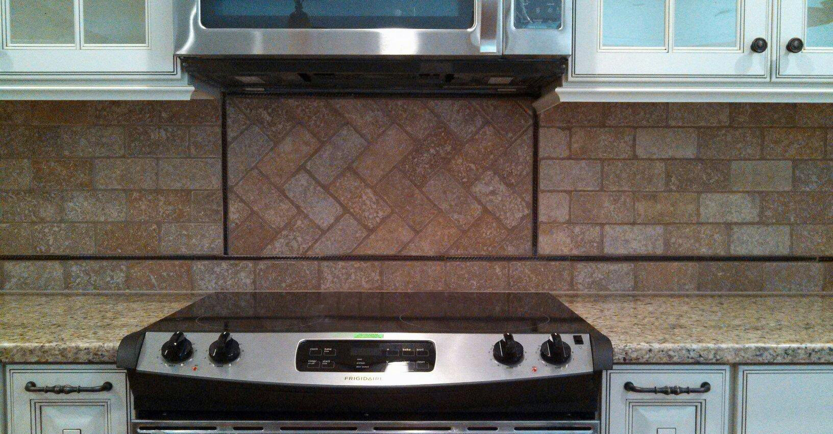 How To Tile Herringbone Pattern Backsplash