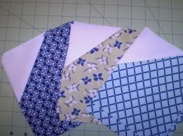quilt block step 1