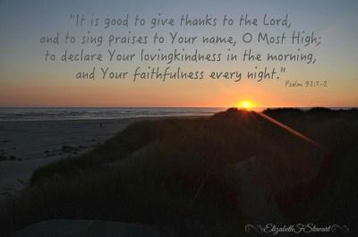 psalm 921-2