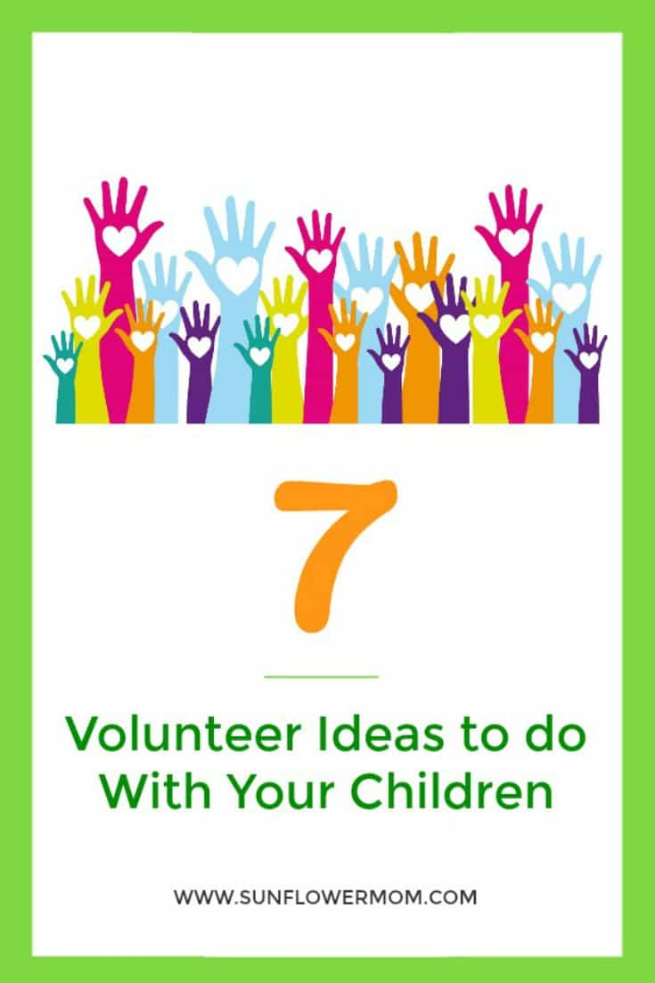 Sometimes finding volunteer ideas for kids can be difficult. But if you make it a family activity, volunteering opportunities are all around us and the effects can be long-lasting. Grab your children and try one of these volunteer ideas today.