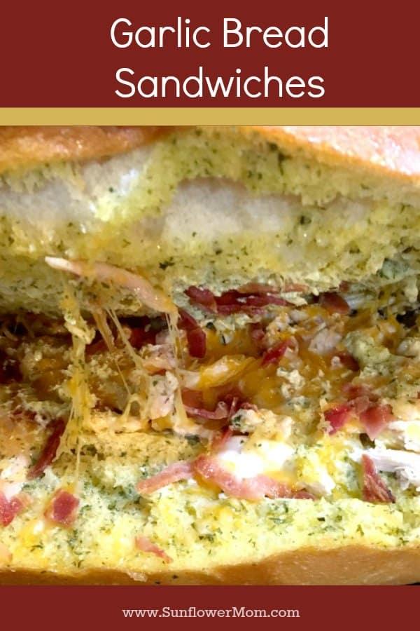 inside of a sandwich