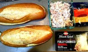 garlic bread sandwiches ingredients