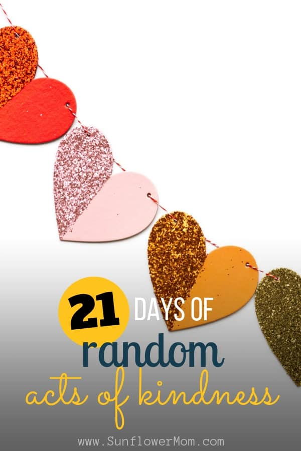 21 Days of Random Acts of Kindness Challenge