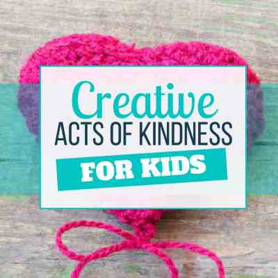 acts of kindness kids