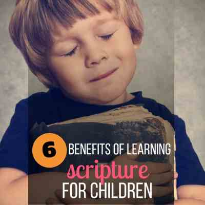 benefits children memorize scripture