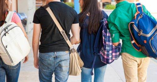 teens walking