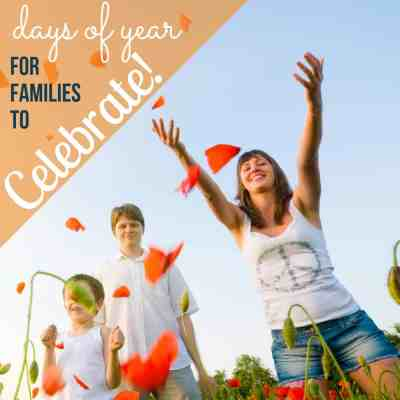 days of the year families