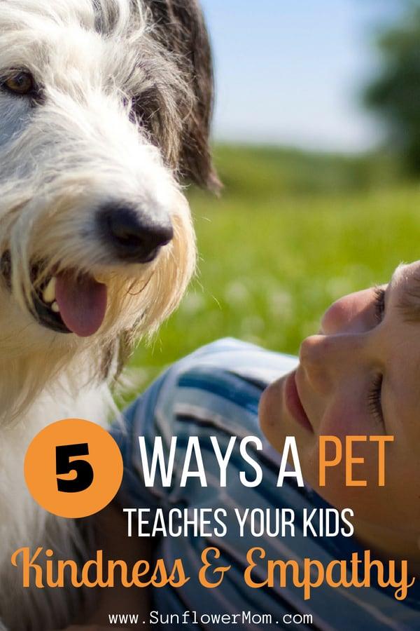 5 Ways a Furry Companion Can Teach Kids Empathy & Kindness