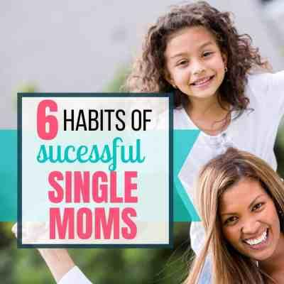 habits successful single mom