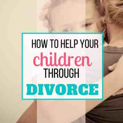 help kids through divorce