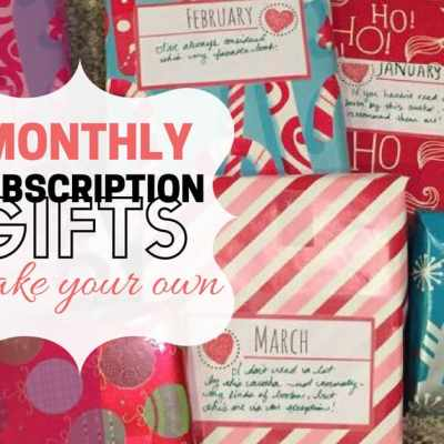 monthly subscription gifts
