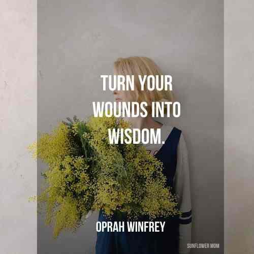 single mom quote on wisdom