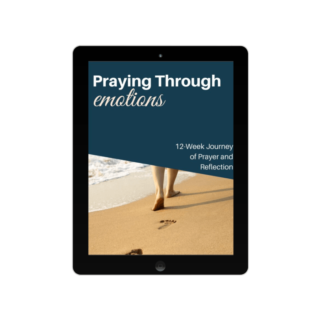 pray through emotions