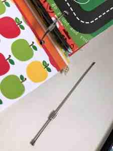school artwork paper organizer connectors