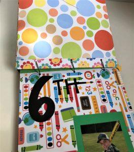 school artwork paper organizer grade 6