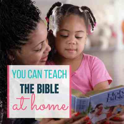 teach kids bible home