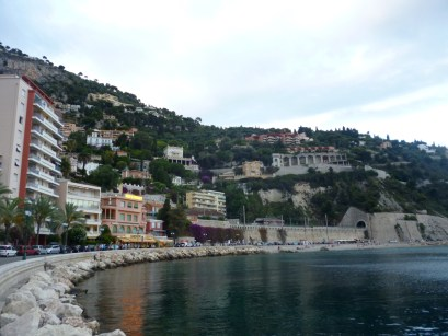 Villefranche first day stroll