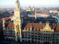 View Marienplatz